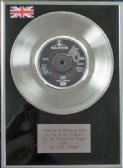 "X John Lennon -7"" Platinum Disc - Love"